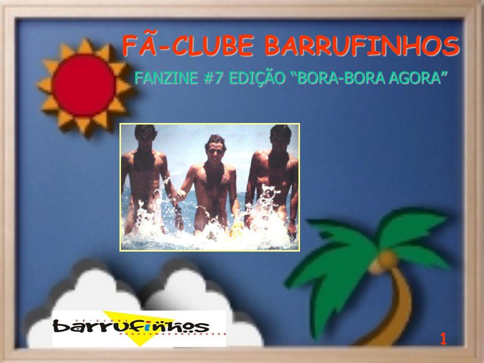 FÃ-CLUBE BARRUFINHOS FANZINE #7 EDIÇÃO BORA-BORA AGORA 1