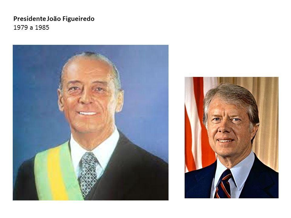 Presidente João Figueiredo 1979 a 1985