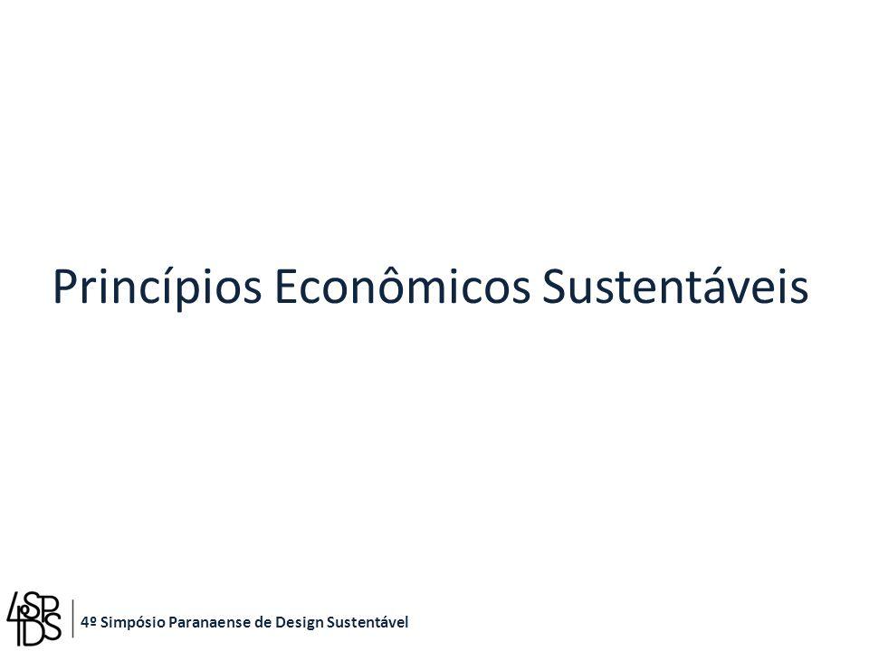 Princípios Econômicos Sustentáveis 4º Simpósio Paranaense de Design Sustentável