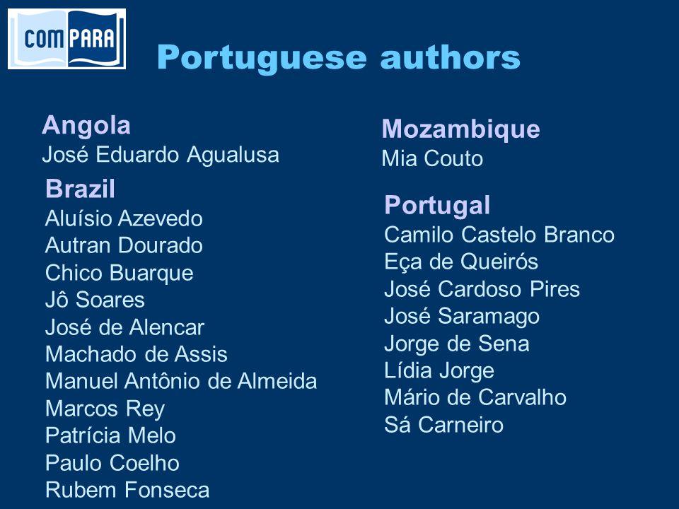 Portuguese authors Portugal Camilo Castelo Branco Eça de Queirós José Cardoso Pires José Saramago Jorge de Sena Lídia Jorge Mário de Carvalho Sá Carne