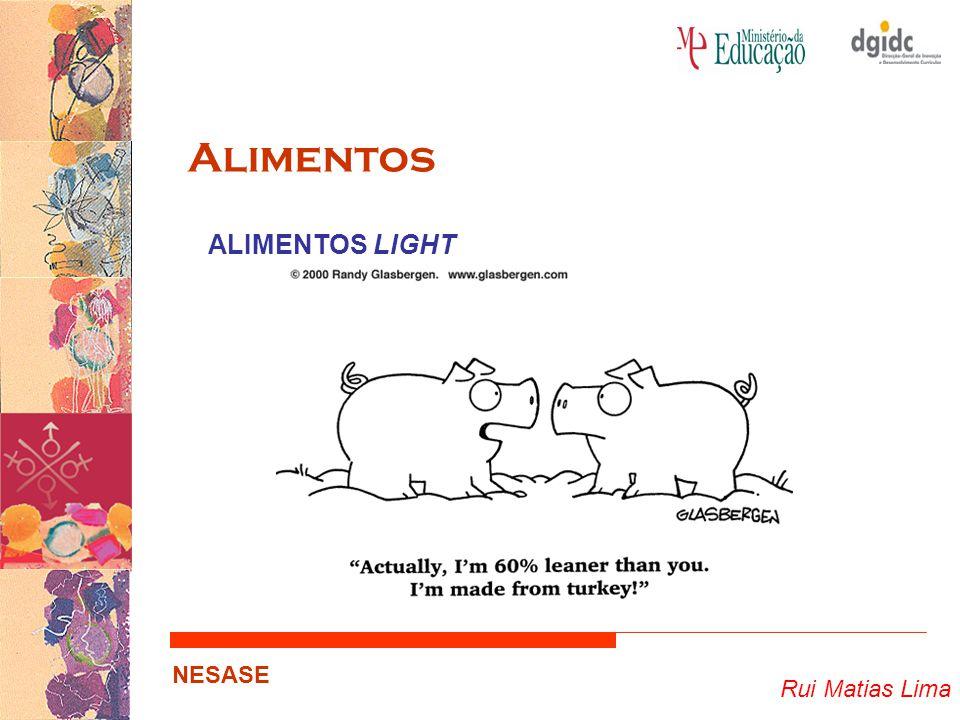 Rui Matias Lima NESASE Alimentos ALIMENTOS LIGHT