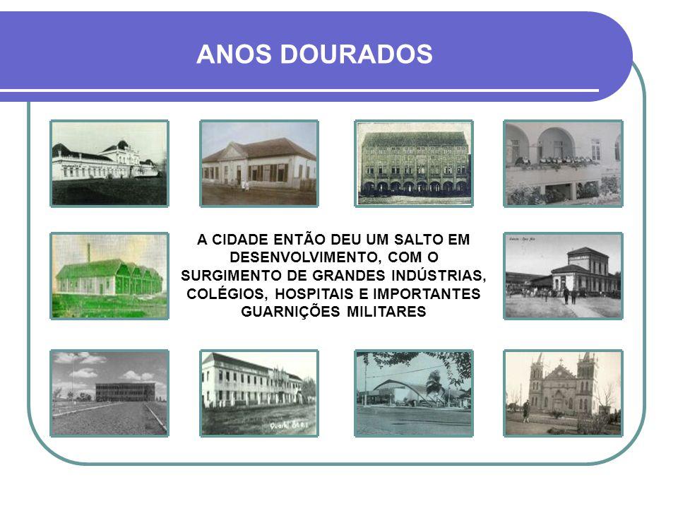 A CIDADE TORNA-SE CENTRO FERROVIÁRIO FATO DE GRANDE SIGNIFICADO NA HISTÓRIA DA CIDADE FOI A INAUGURAÇÃO, EM 1894, DO TRECHO FERROVIÁRIO CRUZ ALTA – SA