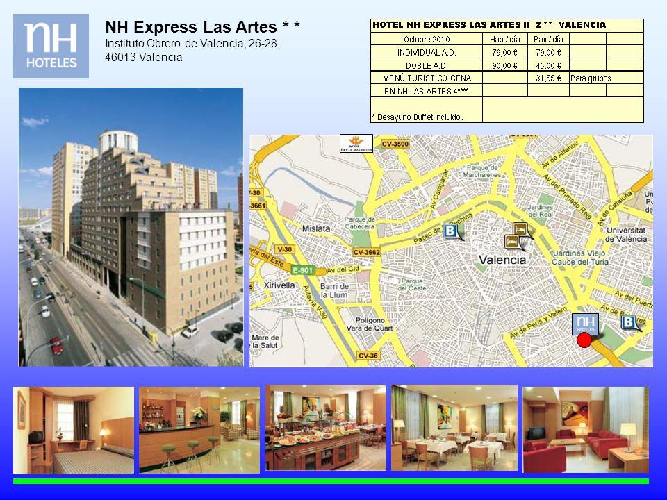 NH Express Las Artes * * Instituto Obrero de Valencia, 26-28, 46013 Valencia