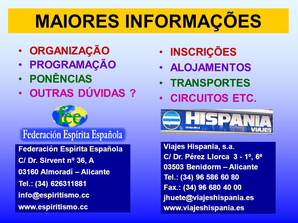 ORGANIZAÇÃO PROGRAMAÇÃO PONÊNCIAS OUTRAS DÚVIDAS .
