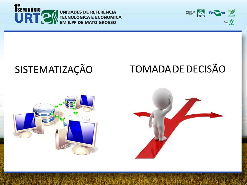 SISTEMATIZAÇÃO TOMADA DE DECISÃO