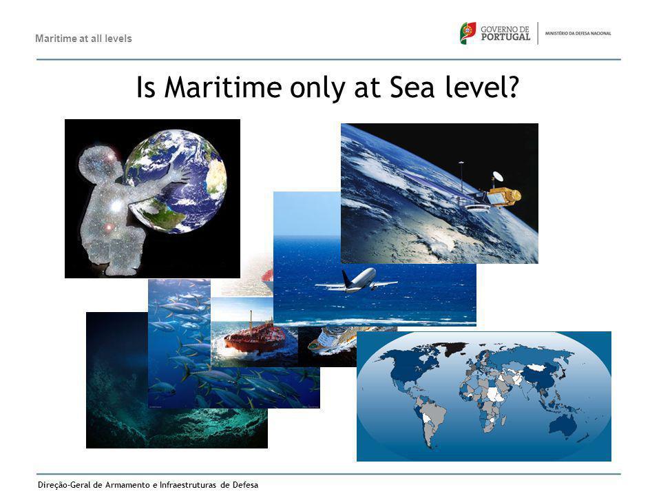 Direção-Geral de Armamento e Infraestruturas de Defesa 7 Is Maritime only at Sea level? Maritime at all levels