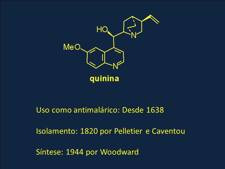 Determinação estrutural da quinina por reações de degradação