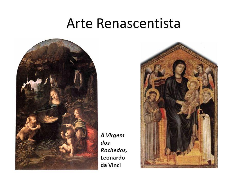 Arte Renascentista A Virgem dos Rochedos, Leonardo da Vinci