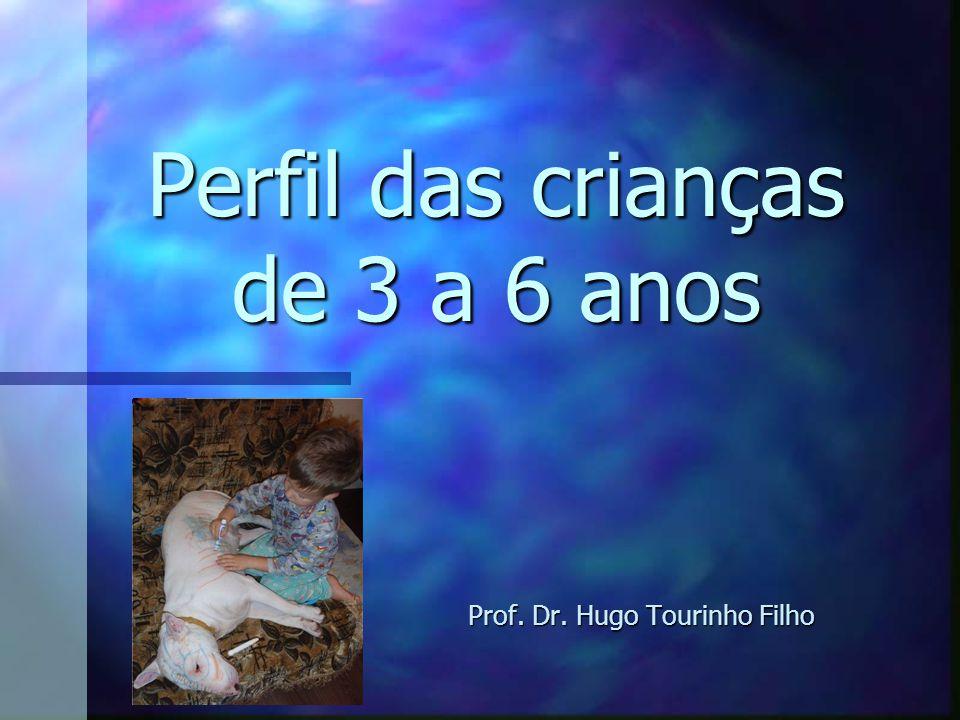 Perfil das crianças de 3 a 6 anos Prof. Dr. Hugo Tourinho Filho
