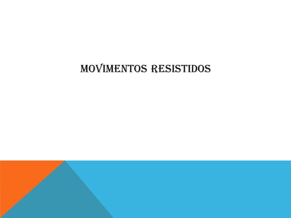 MOVIMENTOS RESISTIDOS