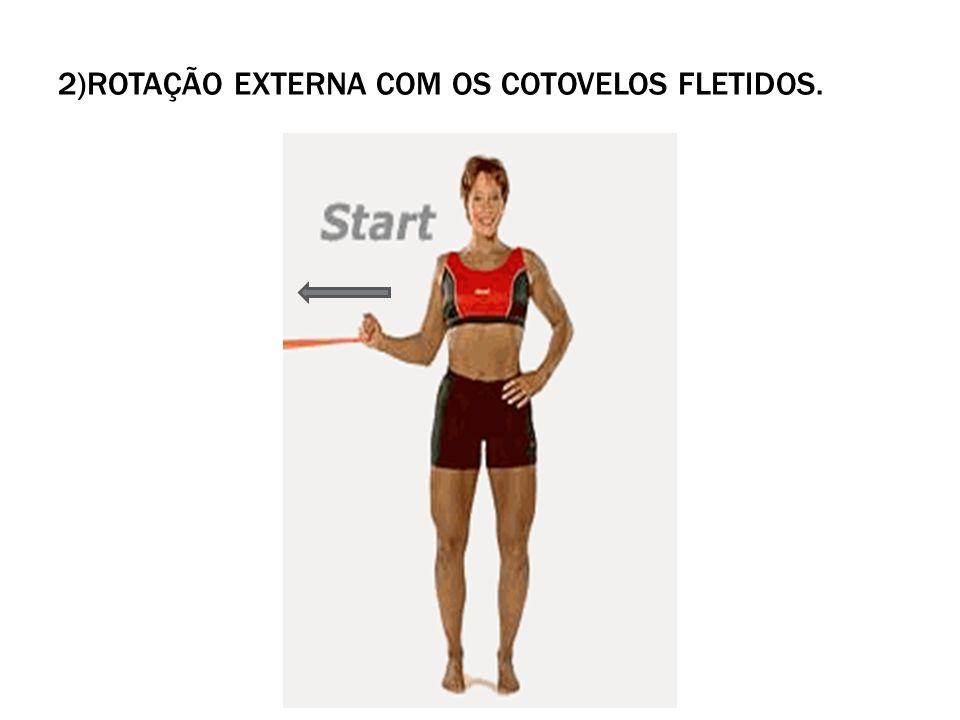 5) BICEPS: SPEED´S TEST Flexione o ombro contra resistência enquanto mantém o cotovelo em estensão e o antebraço em supinação.