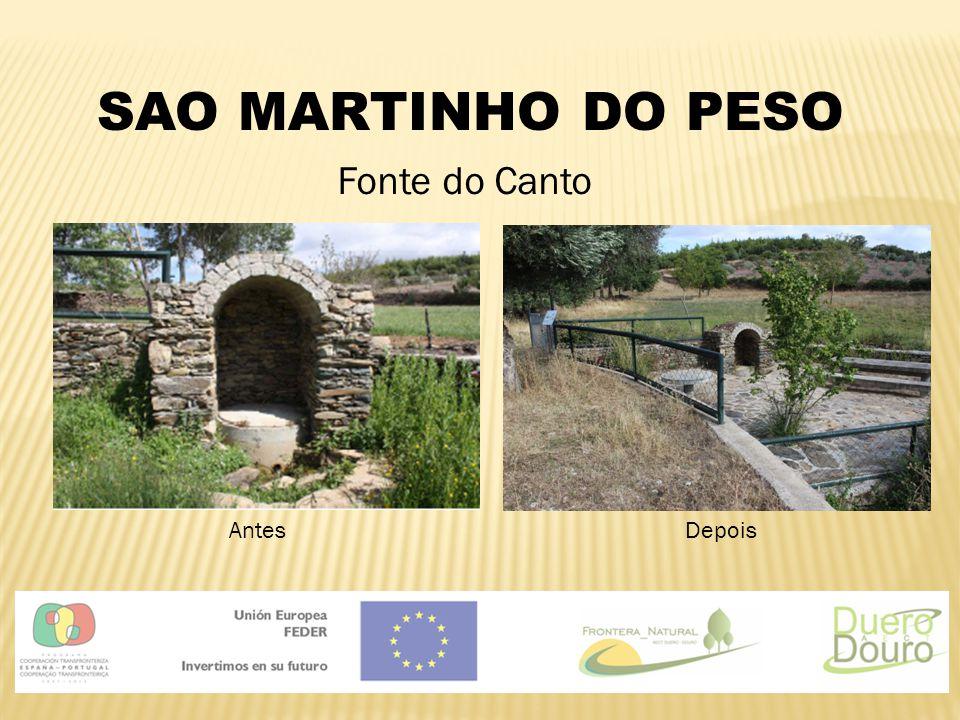 SAO MARTINHO DO PESO Fonte do Canto AntesDepois