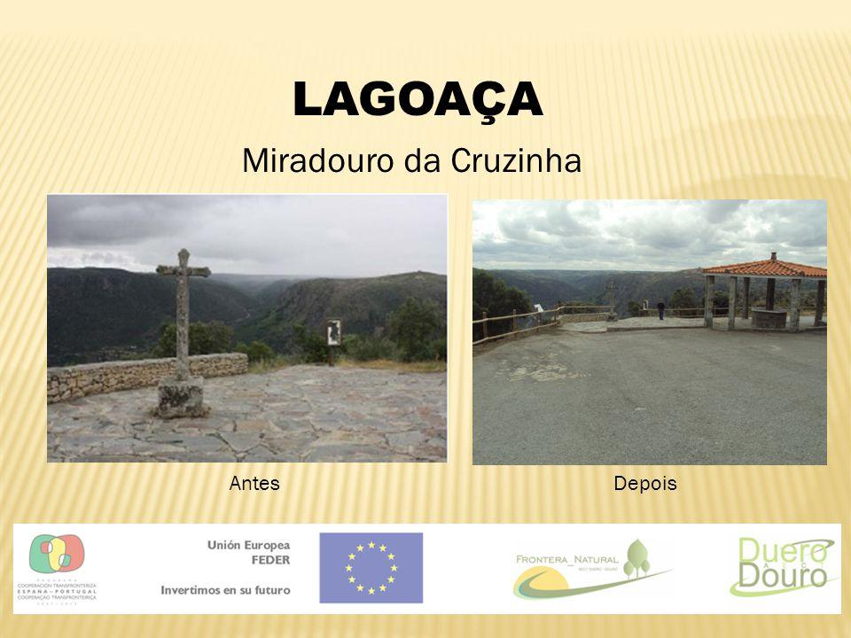 LAGOAÇA Miradouro da Cruzinha AntesDepois