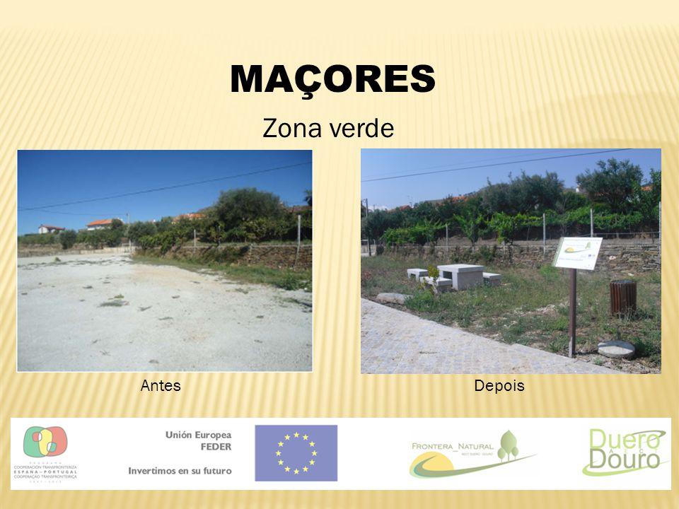 MAÇORES Zona verde AntesDepois