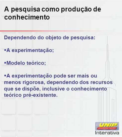 No Brasil:  Há necessidade de que conhecimentos sejam adaptados à realidade brasileira;  Há necessidade de sermos menos dependentes de produtos importados;  Há necessidade de sermos eficientes na geração autóctone do conhecimento.
