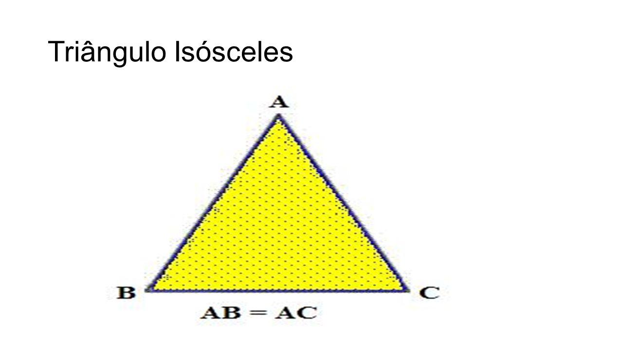 Triângulo Isósceles
