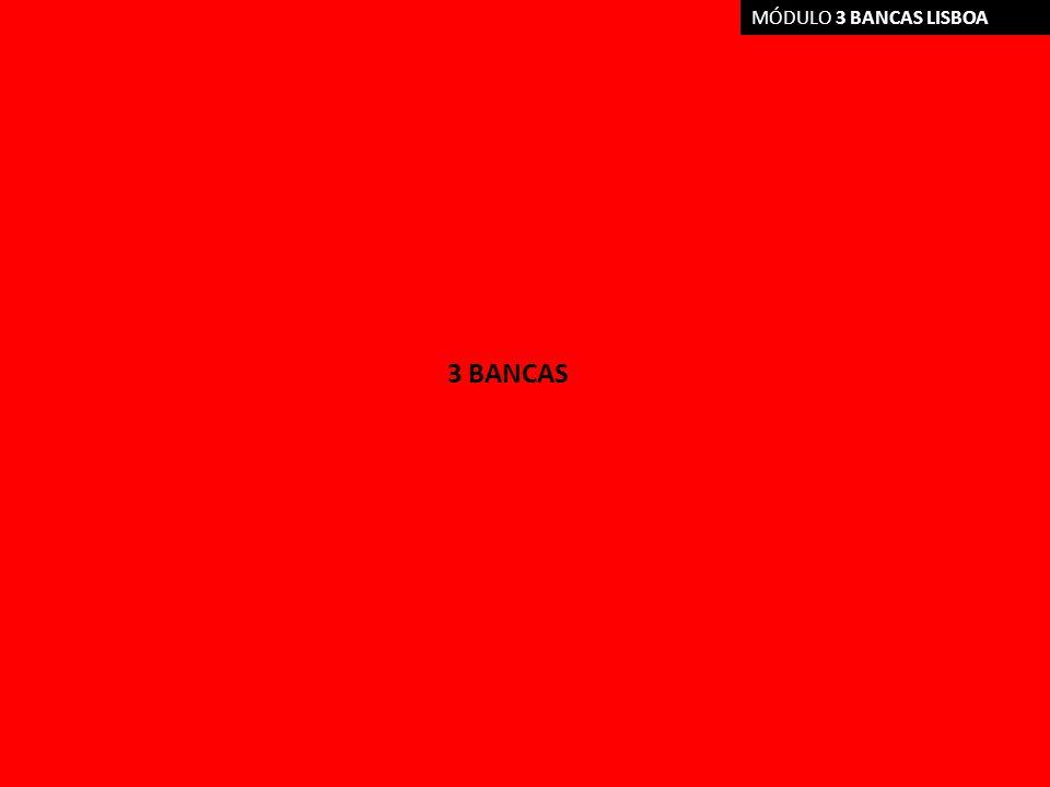 MÓDULO 3 BANCAS LISBOA 3 BANCAS