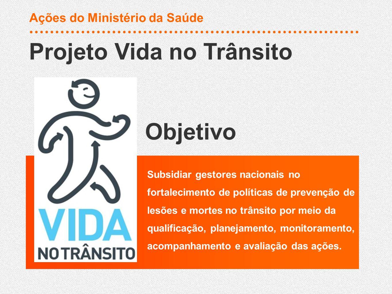 Subsidiar gestores nacionais no fortalecimento de políticas de prevenção de lesões e mortes no trânsito por meio da qualificação, planejamento, monito