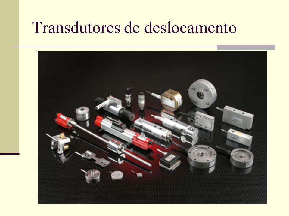 Transdutores de deslocamento