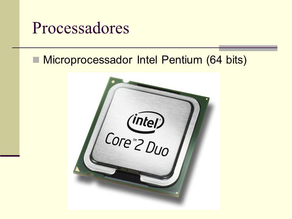 Processadores Microprocessador Intel Pentium (64 bits)