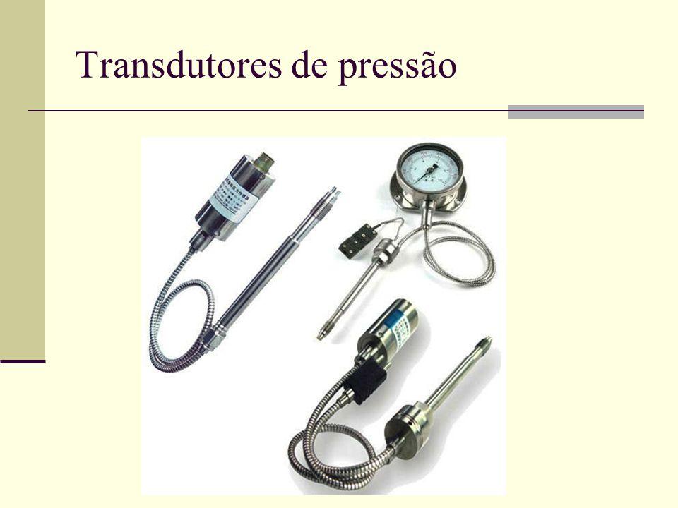Transdutores de pressão