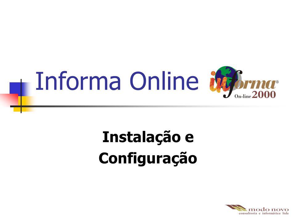 Informa Online Instalação e Configuração
