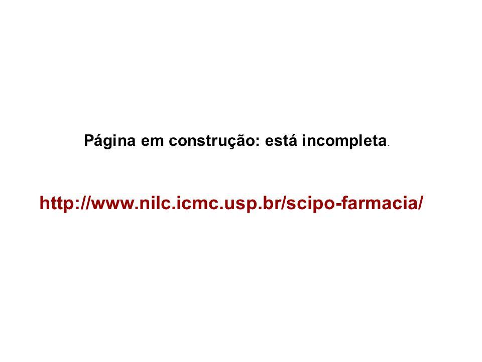 http://www.nilc.icmc.usp.br/scipo-farmacia/ Página em construção: está incompleta.