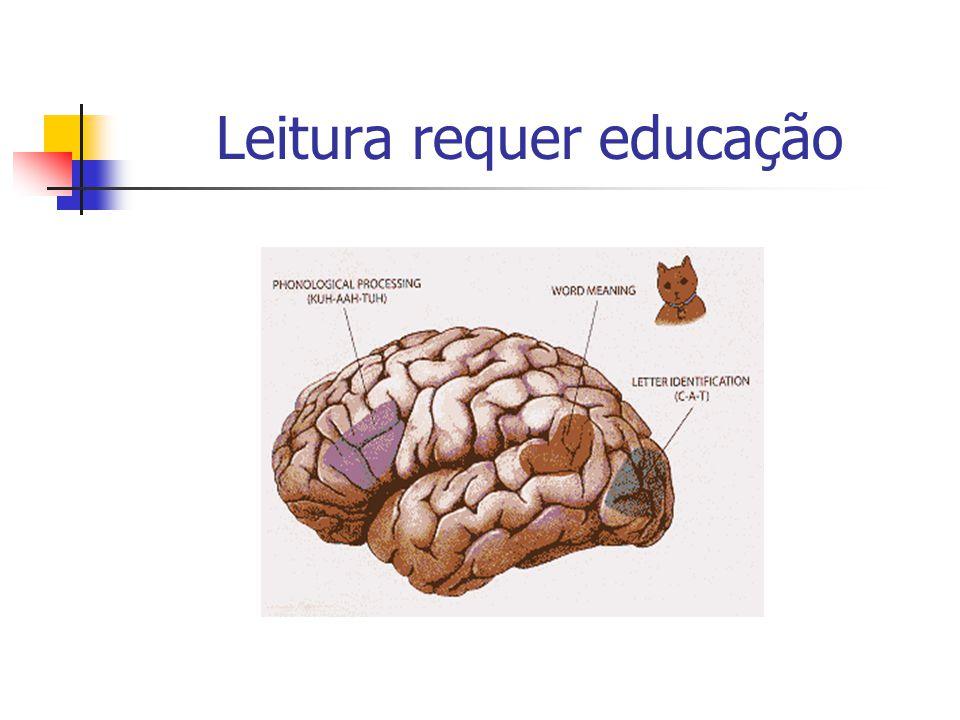 Leitura requer educação