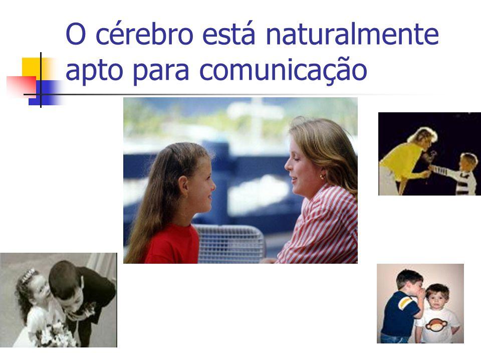 O cérebro está naturalmente apto para comunicação