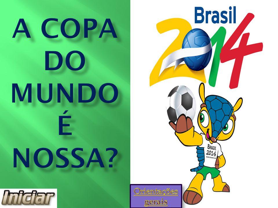 Parece que a seleção não vai conseguir disputar a Copa do Mundo no Brasil. Tente novamente!! v