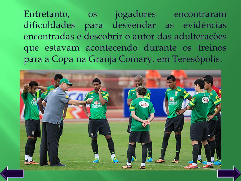 Continue assim e ajude a seleção a disputar a Copa do Mundo!