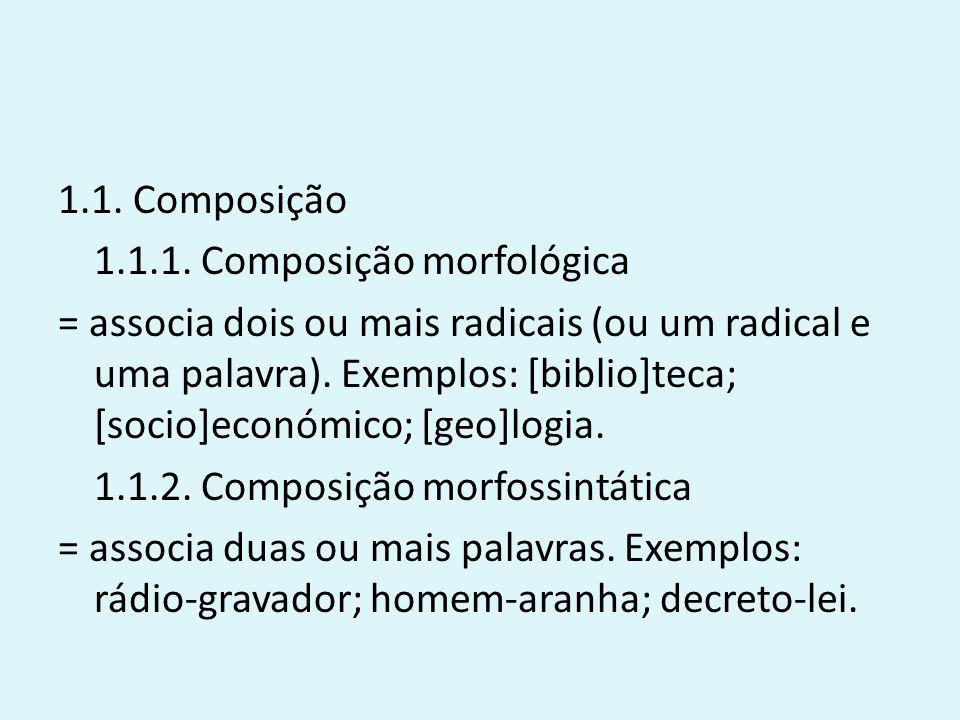 1.1.Composição 1.1.1.