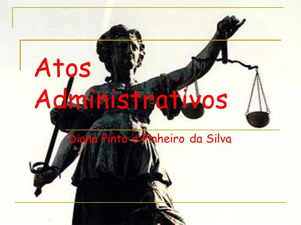 Atos Administrativos Diana Pinto e Pinheiro da Silva