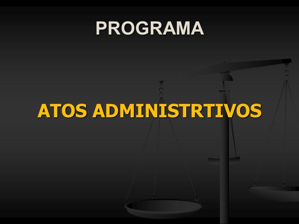 PROGRAMA ATOS ADMINISTRTIVOS