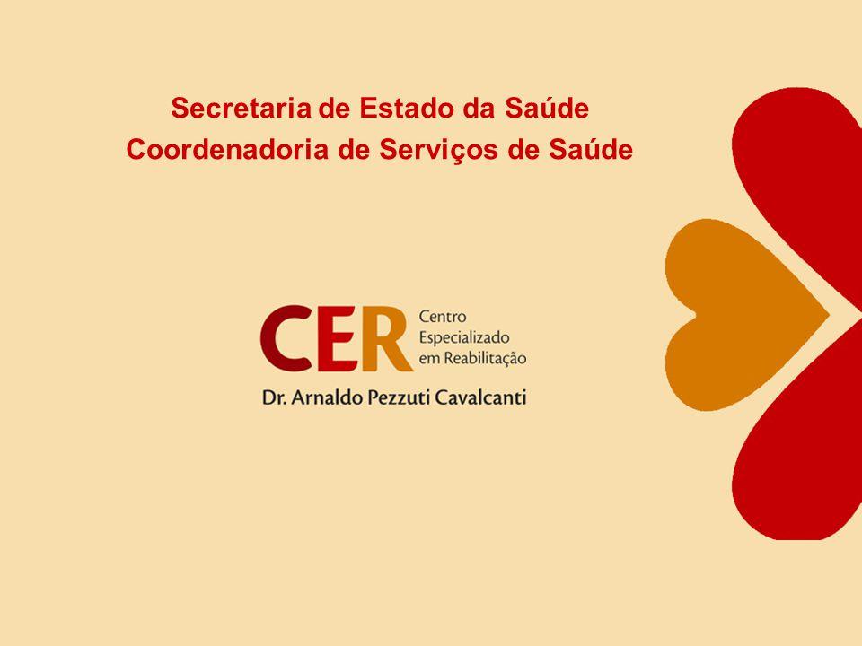 Secretaria de Estado da Saúde Coordenadoria de Serviços de Saúde