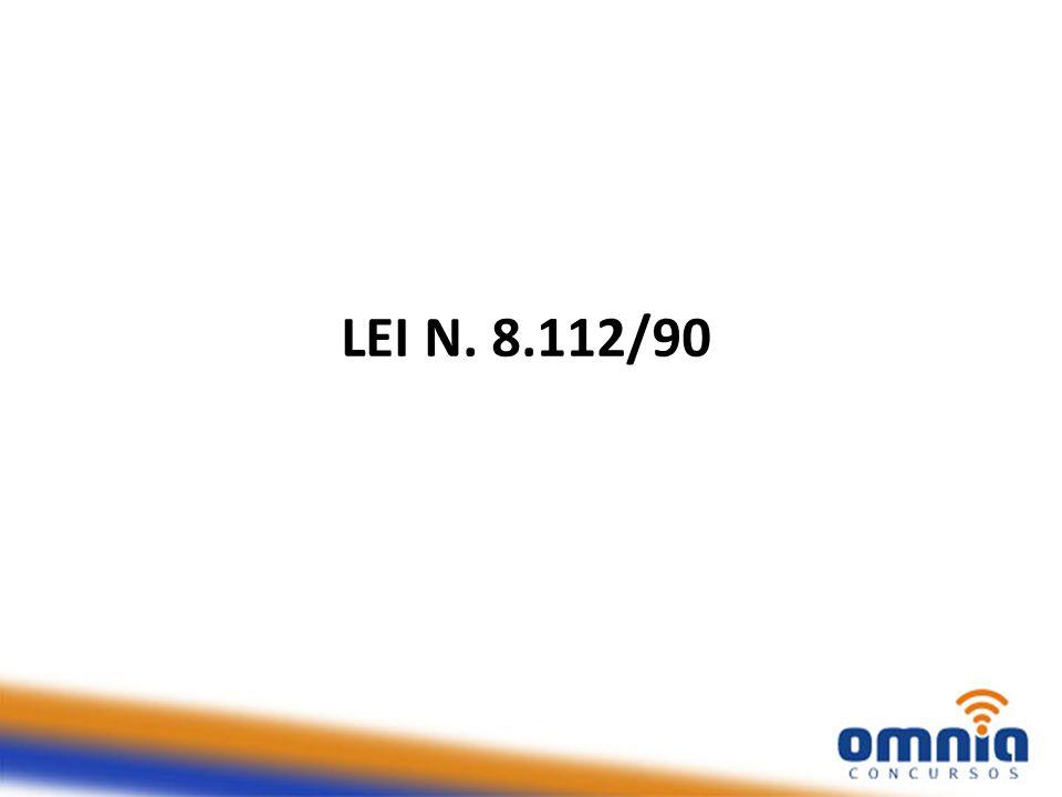 LEI N. 8.112/90