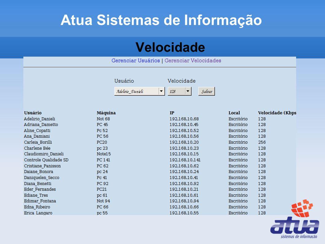 Velocidade Atua Sistemas de Informação