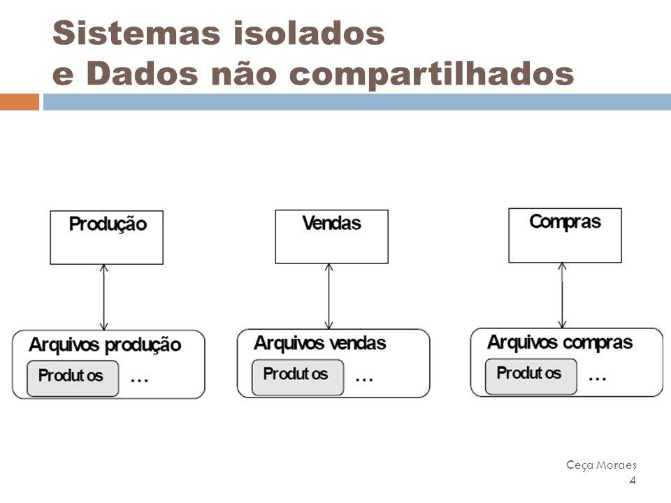 Ceça Moraes 4 Sistemas isolados e Dados não compartilhados