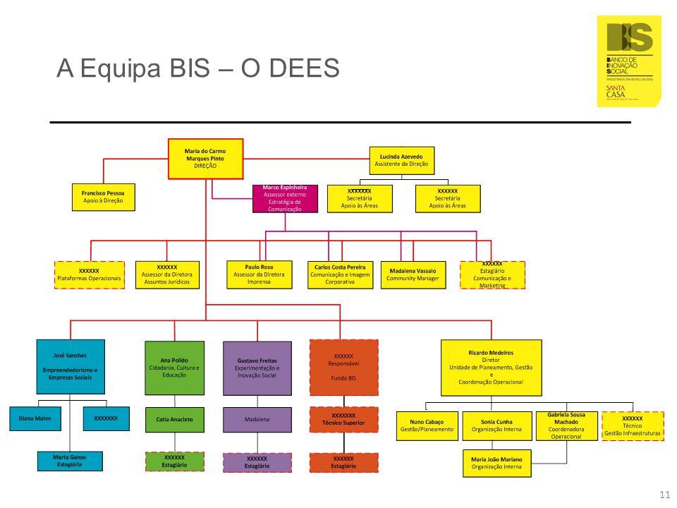 A Equipa BIS – O DEES 11