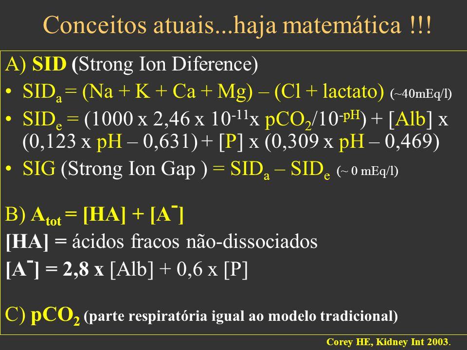 Conceitos atuais...haja matemática !!.