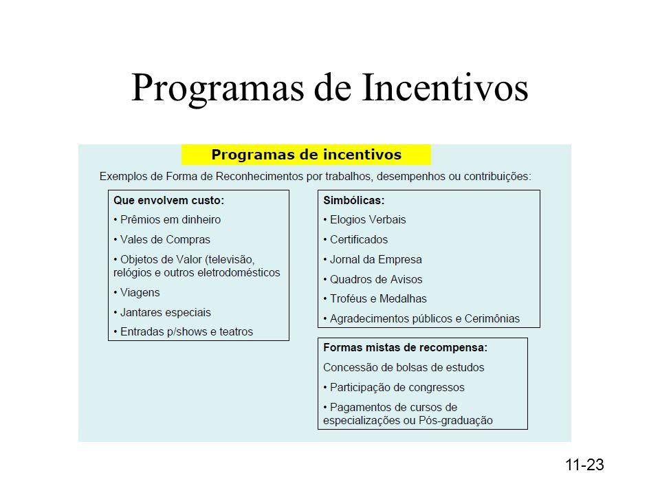 Programas de Incentivos 11-23