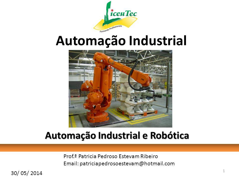 Automação Através dos séculos o homem tem buscado novas formas de melhorar os seus processos produtivos.