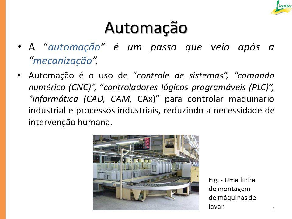 Para projetar uma máquina automatizada, assim como para fazer um robô, os engenheiros têm que dominar técnicas de diversos ramos da ciência desde: – a Matemática; e – a Física; – a Economia (pois lida com produção); até áreas da Engenharia como: – a Mecânica; – a Eletrônica; – a Teoria do Controlo de Sistemas; – a Automação Industrial; – a Visão Artificial por Computador; – as Comunicações; – o Processamento de Sinais; – os Computadores; – a Energia; e muito mais.