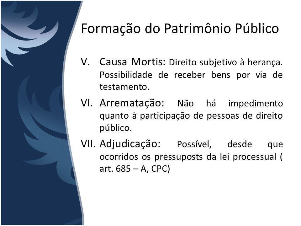 Uso de Bens Públicos Regra Geral: Usados pela Pessoa Jurídica de direito público a que pertecem, independentemente de serem de uso comum, especial ou dominicais.