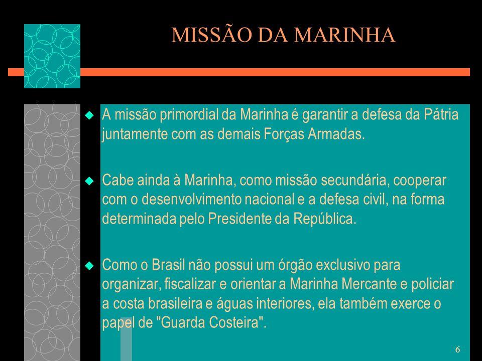 7 MISSÃO DA AERONÁUTICA  Manter a soberania no espaço aéreo nacional com vista à defesa.