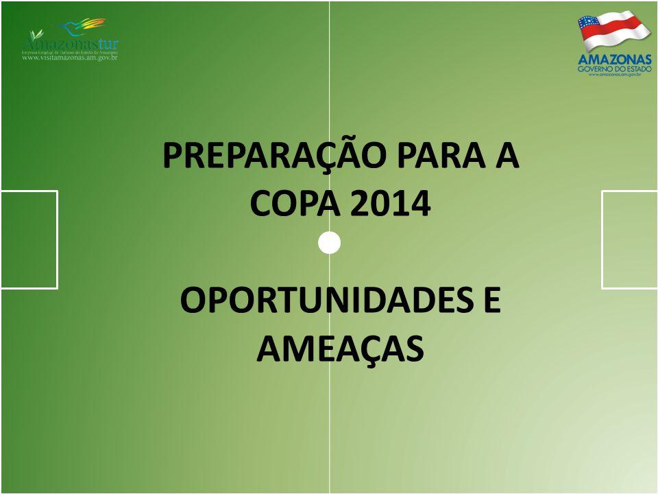 PREPARAÇÃO PARA A COPA 2014 OPORTUNIDADES E AMEAÇAS