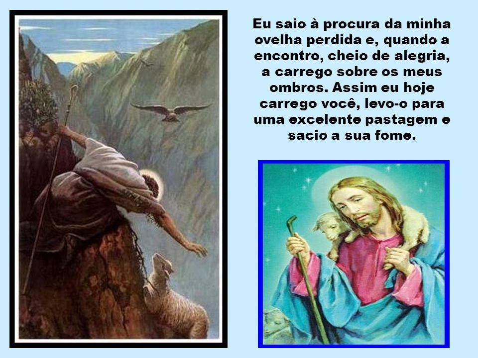 """""""Eu sou o bom Pastor. O bom Pastor expõe a sua vida pelas ovelhas"""".(Jo 10,11) """"Dou a minha vida pelas minhas ovelhas"""".(Jo 10,15)"""