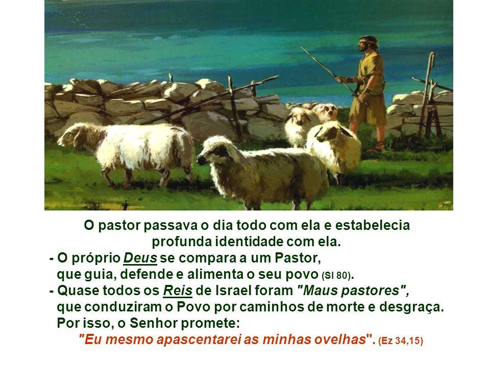O pastor passava o dia todo com ela e estabelecia profunda identidade com ela.