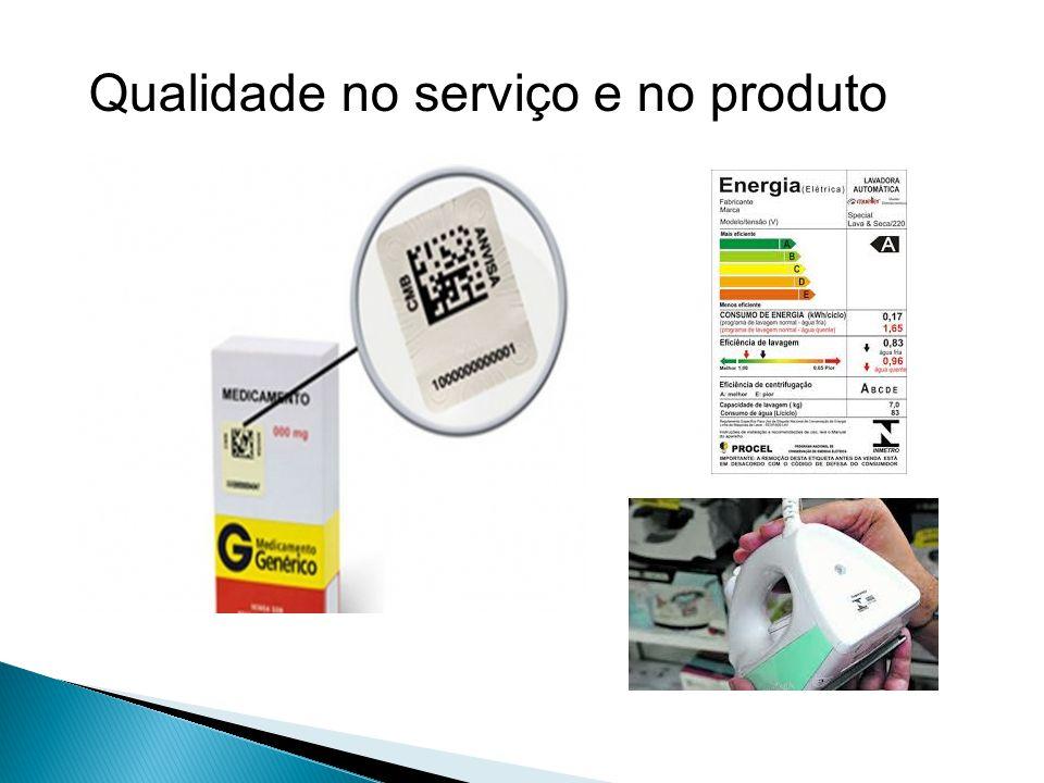 Qualidade no serviço e no produto
