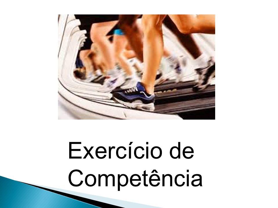 Exercício de Competência